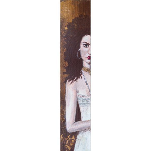 Gina – Original: Acryl auf Leinwand – Kunstdruck: Latex auf Leinwand in Galeriequalität – Komplettansicht