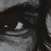 Leonardo – Original: Acryl auf Leinwand – Kunstdruck: Latex auf Leinwand in Galeriequalität - Detailansicht
